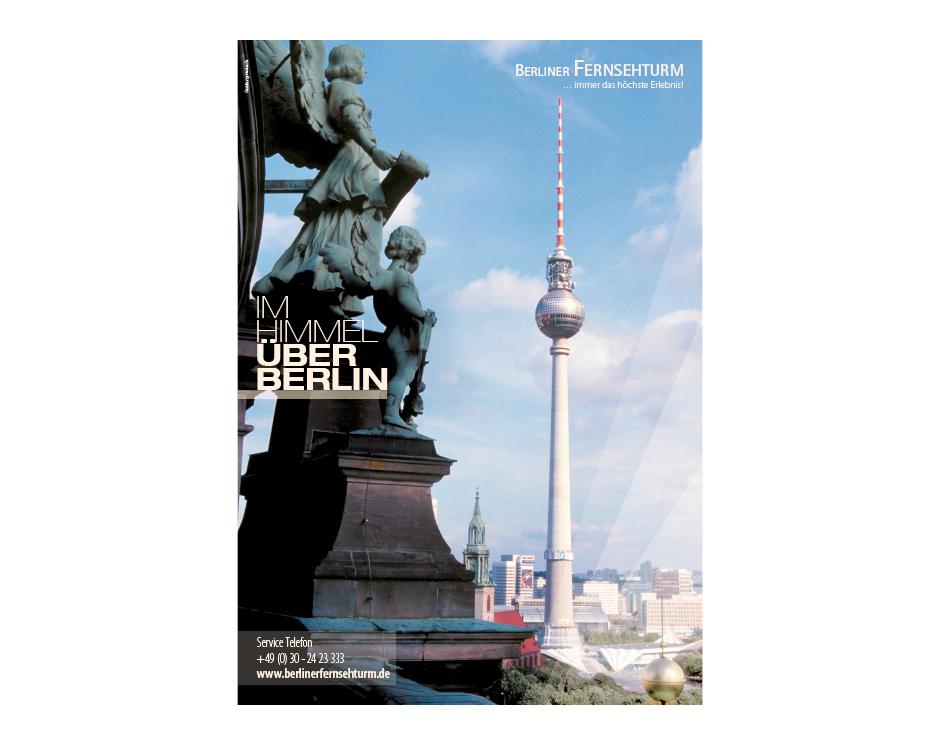 Poster – Berliner Fernsehturm