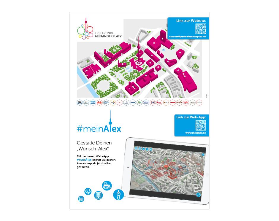 Plakat – Treffpunkt Alexanderplatz