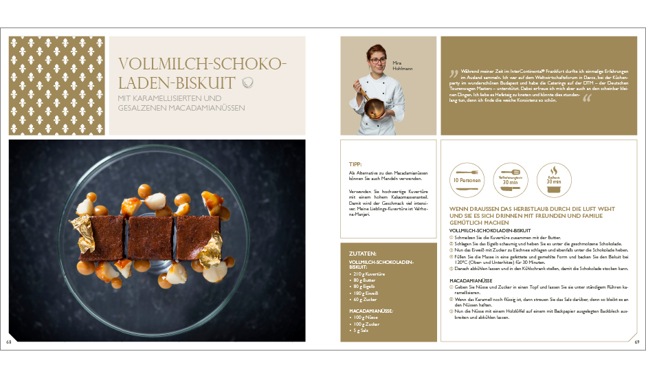 Kochbuch – InterContinental Frankfurt