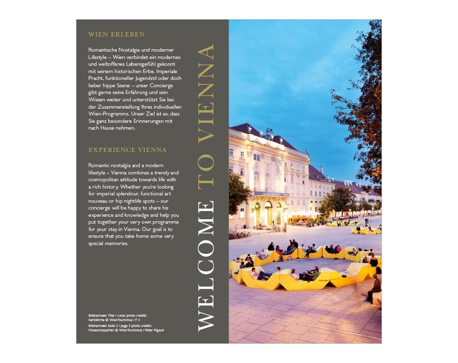 Hausbroschüre InterContinental Wien