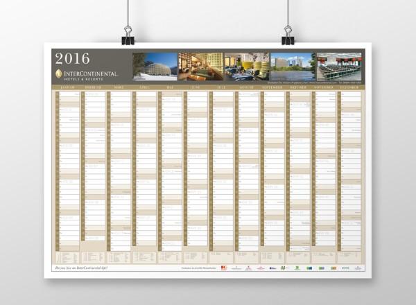 Wandkalender – InterContinental Hotels