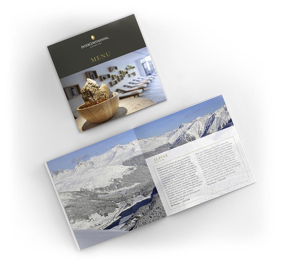 SPA Broschüre – InterContinental Davos