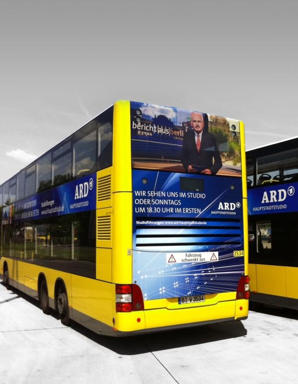 Außenwerbung – ARD Hauptstadtstudio
