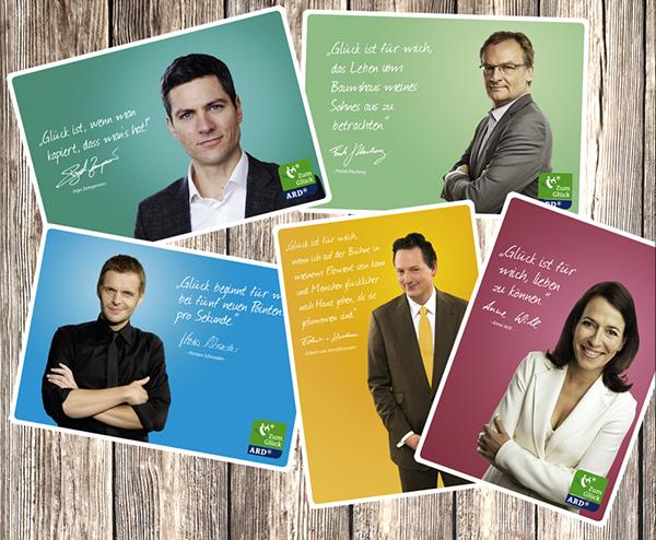 """ARD - Flyer - Themenwoche - """"Zum Glück"""""""