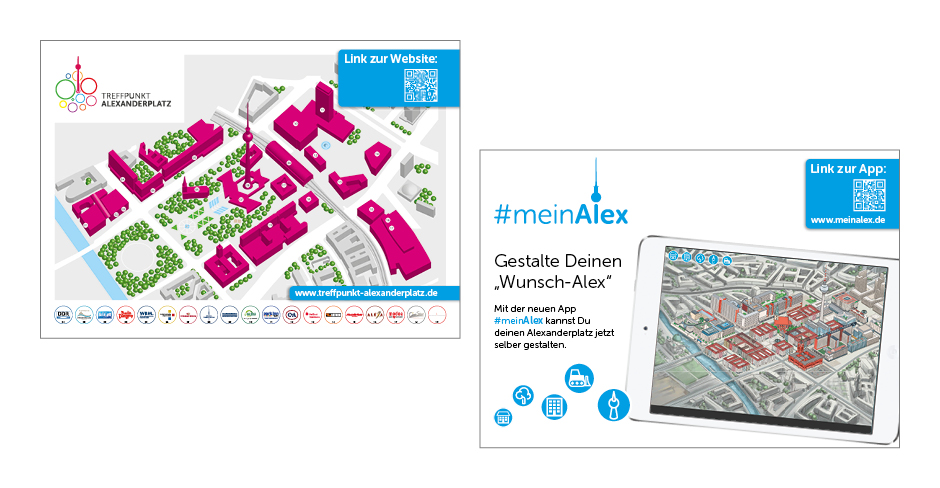 Postkarte – Treffpunkt Alexanderplatz