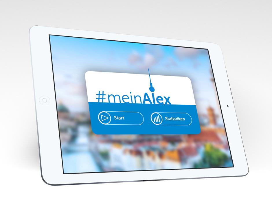 Interface Design – Treffpunkt Alexanderplatz