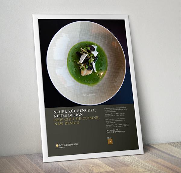 Plakat Hugos – InterContinental Berlin