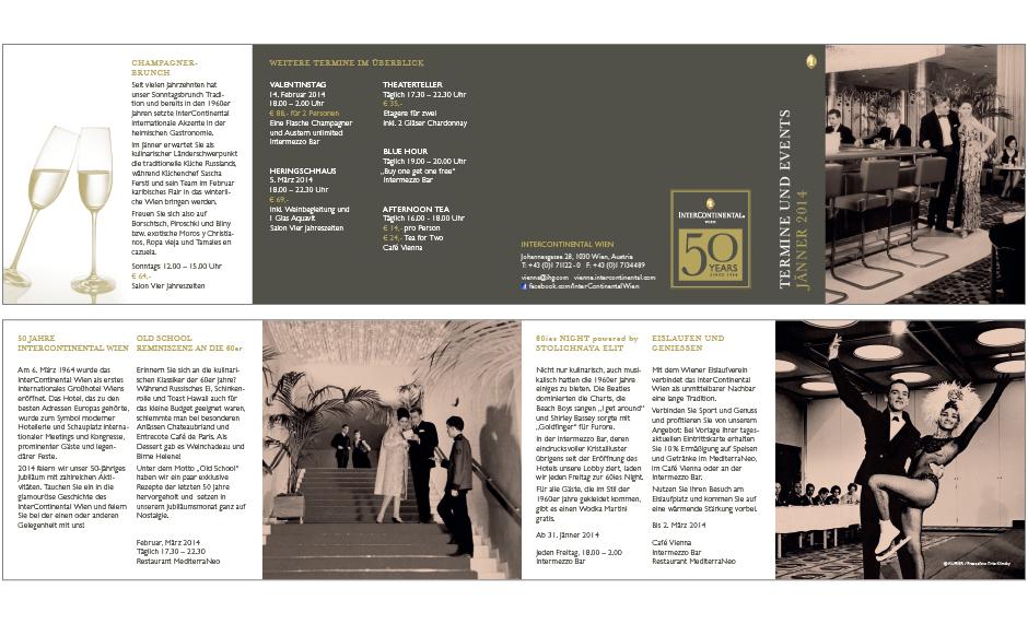 Kulinarischer Kalender InterContinental Wien