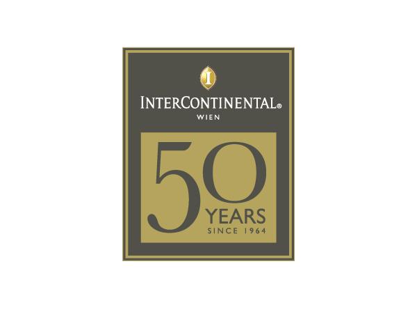 """Logodesign """"50 Jahre"""" – InterContinental Wien"""