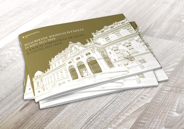 Weihnachtsbroschüre – InterContinental Wien