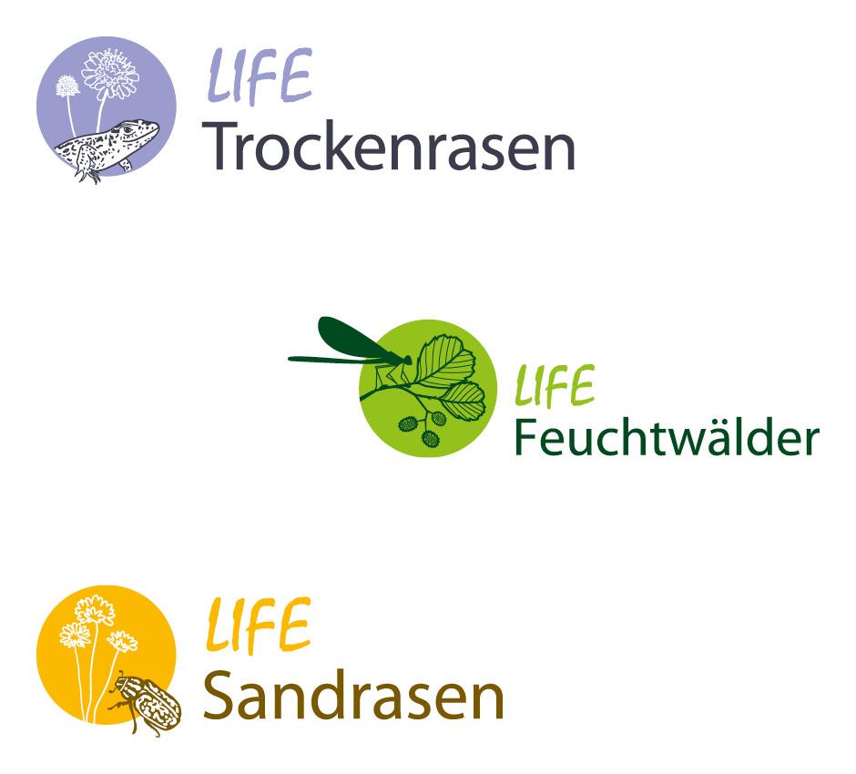 LIFE Logodesigns – Stiftung Naturschutzfonds Brandenburg