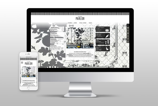 InterContinental Wien Parlor Website
