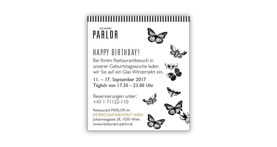 Online Banner Einladung Jubiläum