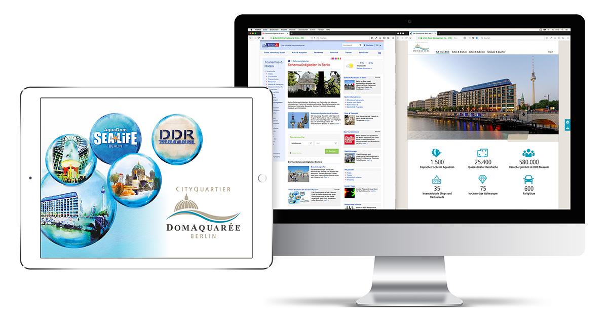 Online-Kampagne für das DomAquarée