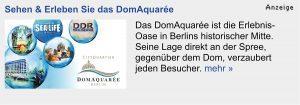 Teaser-Ad DomAquarée auf Berlin.de