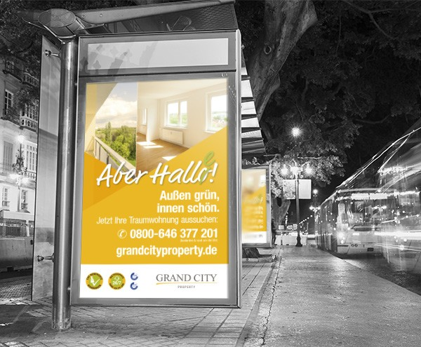Aber Hallo(e) Kampagne – Grand City Property