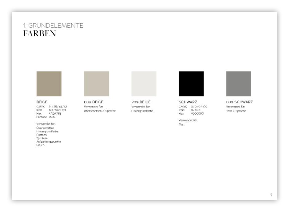 Strandhotel Ahlbeck Corporate Design Manual