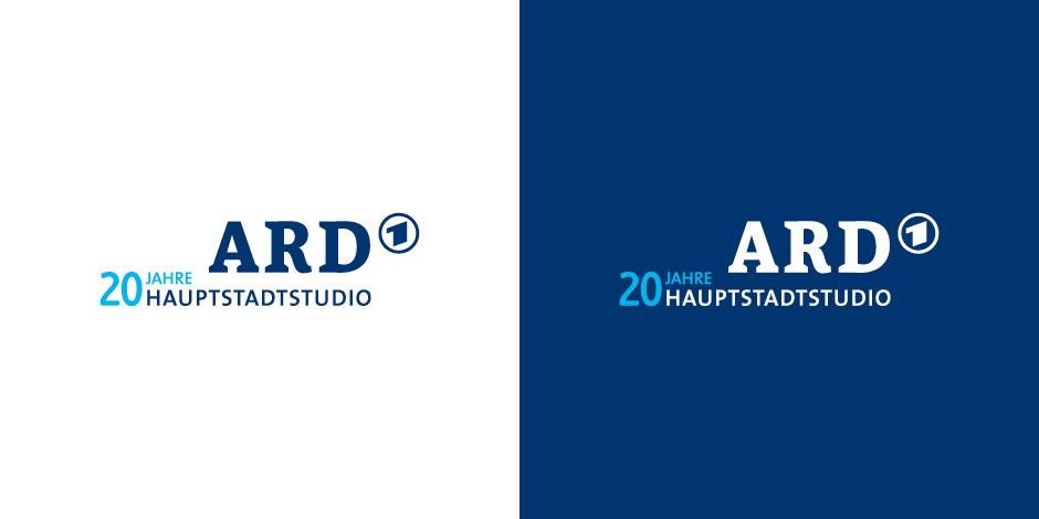 Logo 20 Jahre ARD Hauptstadtstudio